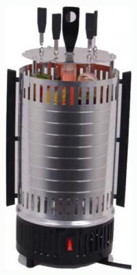 Электрошашлычница Irit IR-5150 серебристый чёрный