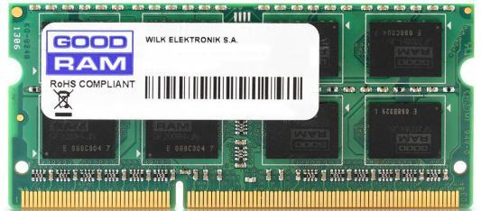 Оперативная память для ноутбуков SO-DDR3 4Gb PC-12800 1600MHz GoodRAM GR1600S3V64L11S/4G