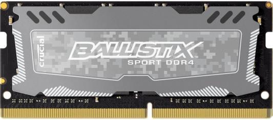 Оперативная память для ноутбуков SO-DDR4 16Gb PC4-19200 2400MHz Crucial BLS16G4S240FSD