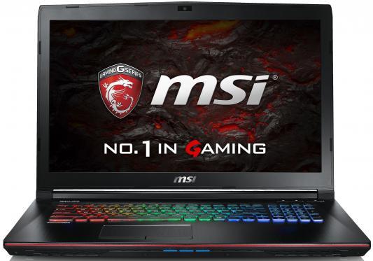 """Ноутбук MSI GE72VR 6RF-244XRU Apache Pro 17.3"""" 1920x1080 Intel Core i7-6700HQ 9S7-179B11-244"""