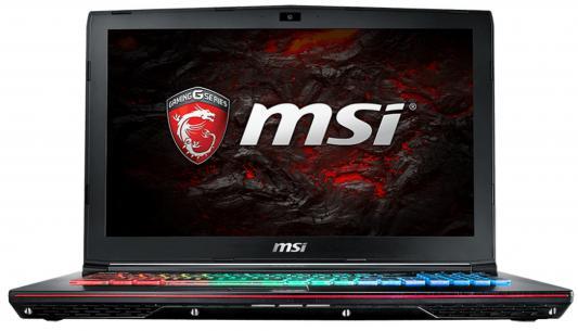 """Ноутбук MSI GE62VR 6RF-261RU Apache Pro 15.6"""" 1920x1080 Intel Core i7-6700HQ 9S7-16JB12-261"""