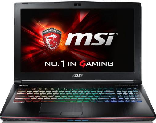"""Ноутбук MSI GE62VR 6RF(Apache Pro)-262XRU 15.6"""" 1920x1080 Intel Core i7-6700HQ 9S7-16JB12-262"""