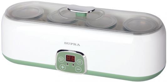 Йогуртница Supra YGS-8014 белый зелёный