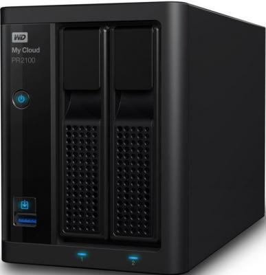 Сетевое хранилище WD My Cloud Pro PR2100 WDBVND0040JBK-EEUE geeetech pro w prusa i3 diy cloud 3d printer kit