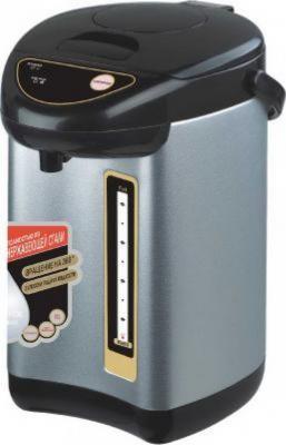 Термопот Irit IR-1413 750 Вт серебристый чёрный 3 л нержавеющая сталь