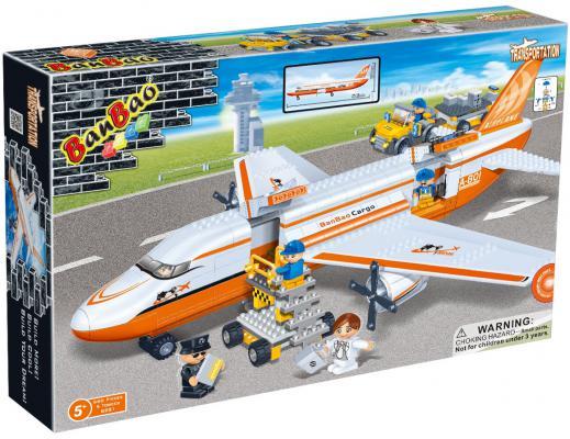 Конструктор BanBao Transportation: Гражданская авиация 660 элементов 8281 конструктор banbao пожарный джип 158 элементов 8299
