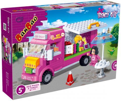 "Конструктор BanBao Trendy City: ""Кафе-мороженое"" 223 элемента"