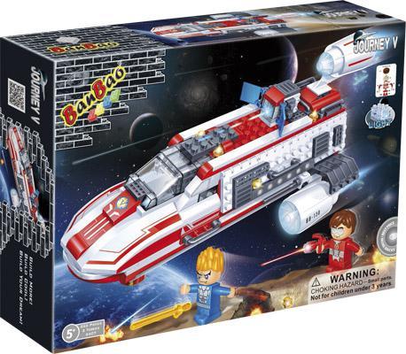 Конструктор BanBao Космический летательный аппарат 252 элемента