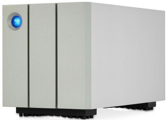 "Сетевое хранилище Lacie Thunderbolt2 8Tb STEY8000200 2big 3.5"" USB 3.0 белый"