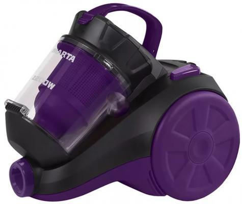 Пылесос Marta MT-1349 сухая уборка чёрный фиолетовый
