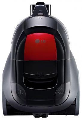 Пылесос LG VK-69661N сухая уборка чёрный красный