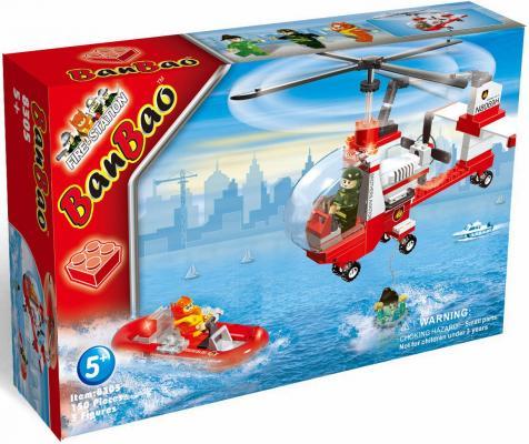 Конструктор BanBao Пожарный вертолет 150 элементов 8305