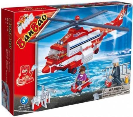 Конструктор BanBao Пожарный вертолет 272 элемента 8315