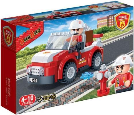 Конструктор BanBao Пожарный внедорожник 105 элементов 7117