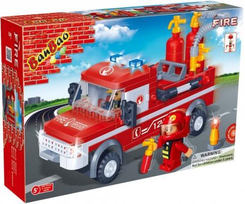 Конструктор BanBao Пожарный джип 158 элементов 8299