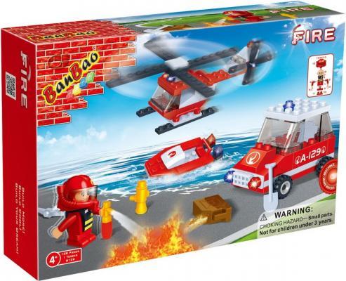 Конструктор BanBao Пожарный 108 элементов