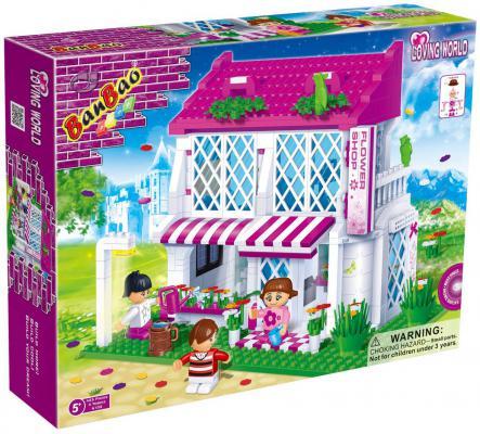 Конструктор BanBao Цветочный магазин 425 элементов