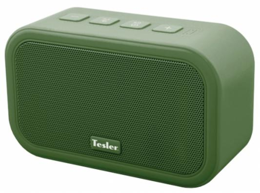 Портативная акустика Tesler PSS-444 зеленый