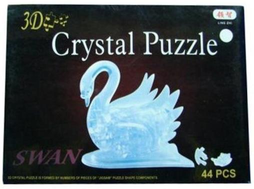 Пазл 3D 44 элемента Shantou Gepai Лебедь 9004 3d пазл птеранодон pandapuzzle