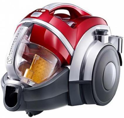 Пылесос LG VK-89380NSP сухая уборка красный пылесос lg vk89682hu 1800вт красный