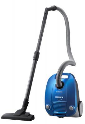 Пылесос Samsung VCC4140V38 сухая уборка синий