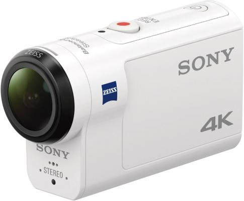 Экшн-камера Sony FDR-X3000 белый видеокамера sony fdr x1000v 4k