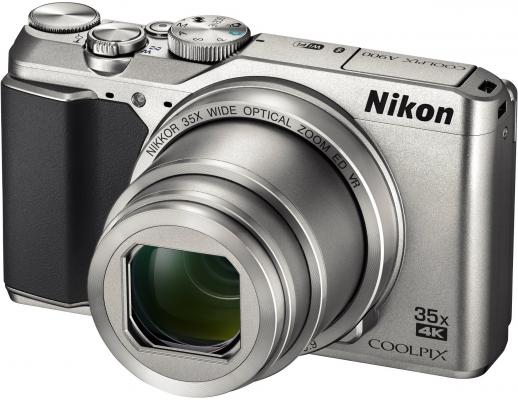 Фотоаппарат Nikon Coolpix A900 20.3Mp 35x Zoom серебристый