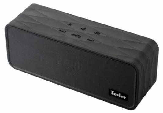 Портативная акустикаTesler PSS-555 черный морозильник tesler rf 90 белый