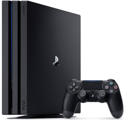 Игровая приставка Sony PlayStation 4 Pro 1Tb CUH-7008B черный + Dualshock 4