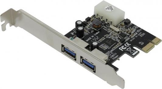 Контроллер PCI-E Orient NC-3U2PE USB3.0 Retail контроллер pci e 2 com купить минск
