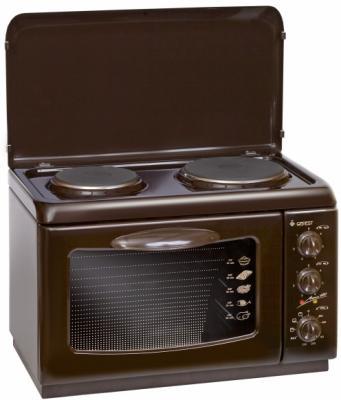 Электроплитка Gefest 420 К19 коричневый