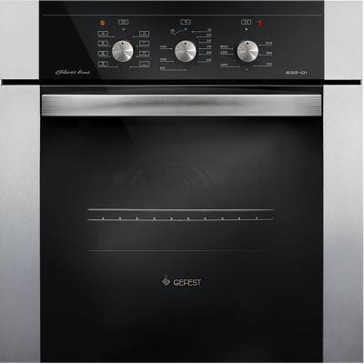 Электрический шкаф Gefest ЭДВ ДА 622-01 Н3 серебристый защитное стекло 3d deppa 61998 для apple iphone 6 6s plus 0 3 мм белое