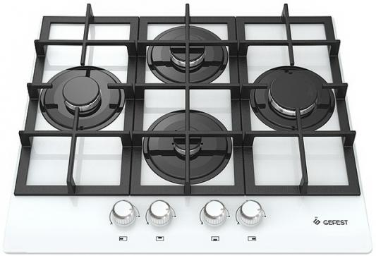 лучшая цена Варочная панель газовая Gefest ПВГ 2231 К12 белый 36580