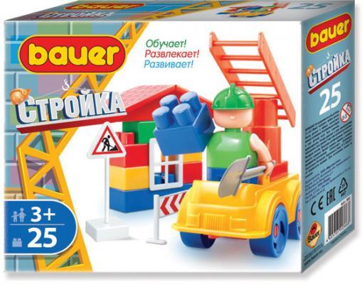 Конструктор Bauer Стройка 366 25 элементов конструктор bauer стройка 366