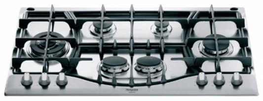 Варочная панель газовая Ariston PHN 961 TS/IX/HA серебристый варочная панель газовая ariston pk 640 x серебристый