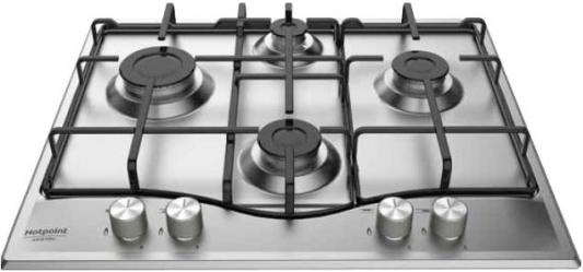 Варочная панель газовая Ariston PKL 641 D2/IX/HA серебристый