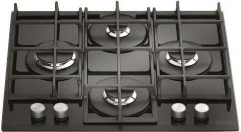 Варочная панель газовая Ariston TQG 641 /HA (CF) черный встраиваемая газовая варочная панель hotpoint ariston tqg 641 ha cf
