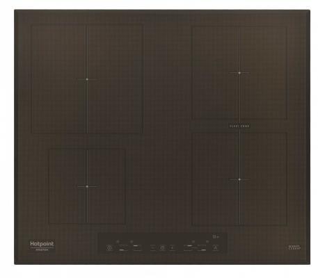 Варочная панель электрическая Ariston KIA 641 B B (CF) черный варочная панель электрическая ariston kis 644 ddz черный