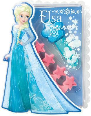 Игровой набор детской декоративной косметики Markwins Frozen Эльза 9606051 2 предмета игровой набор детской декоративной косметики markwins monster high с поясом визажиста 9706551