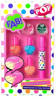 Игровой набор Markwins Pop для ногтей 6 предметов christina fitzgerald набор лаков для ногтей colour pop разноцветный дождик 5x5ml