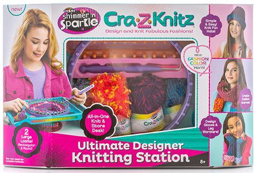 Набор для вязания Cra-Z-Art Вязальная станция от 8 лет (большая) 17118