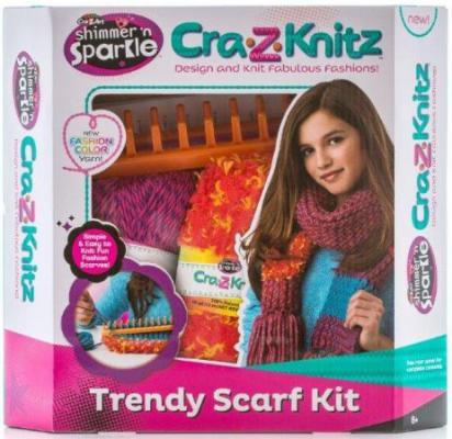 Набор для вязания Cra-Z-Art Шарф от 8 лет 6 шт 17121