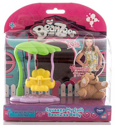 """Игровой набор Beanzees """"Плюшевая собачка на качелях"""" 2 предмета B32021"""