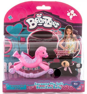 Игровой набор Beanzees Медвежонок на пони-качалке 2 предмета B32031 игровой набор beanzeez медвежонок на пони качалке
