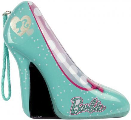 Игровой набор детской декоративной косметики Markwins Barbie в туфельке 9 предметов 9600651 игровой набор детской декоративной косметики markwins barbie с рюкзаком 9709351