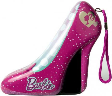 Игровой набор детской декоративной косметики Markwins Barbie в туфельке 9 предметов
