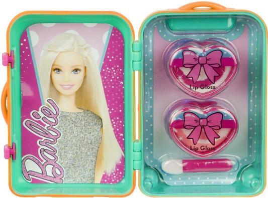Игровой набор детской декоративной косметики Markwins Barbie в чемоданчике 4 предмета