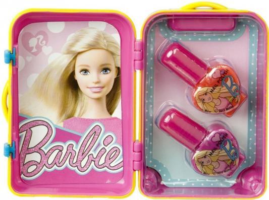 Игровой набор детской декоративной косметики Markwins Barbie в чемоданчике 4 предмета 9600351 markwins набор детской косметики в книжке принцессы диснея