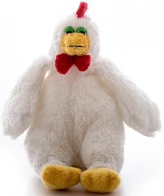 Мягкая игрушка AURORA Петушок плюш белый 18 см