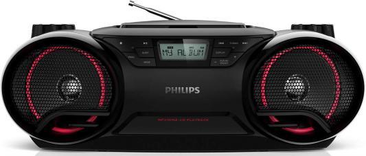 Магнитола Philips AZ3831/12 черный магнитола philips az318w